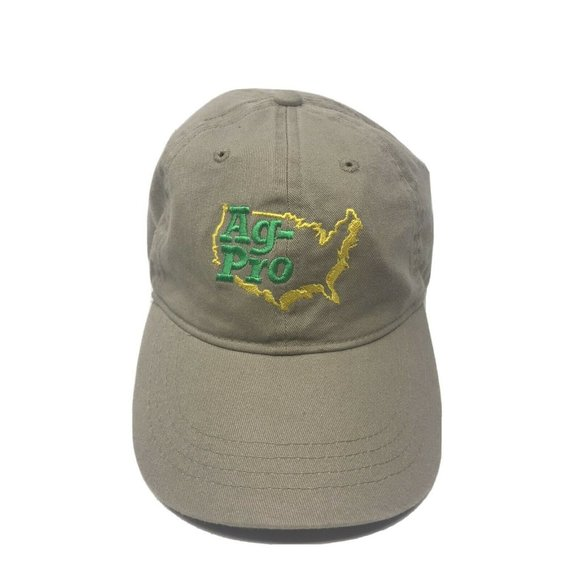 John Deere Ag Pro Cap//Hat Strap Back Trucker New without tag